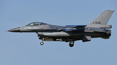 Photo ID 208851 by Rainer Mueller. Netherlands Air Force General Dynamics F 16AM Fighting Falcon, J 646