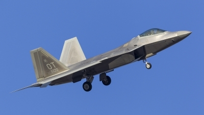 Photo ID 208860 by Tom Gibbons. USA Air Force Lockheed Martin F 22A Raptor, 06 4120