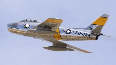 Photo ID 208904 by Nathan Havercroft. Private Planes of Fame Air Museum North American F 86F Sabre, NX186AM