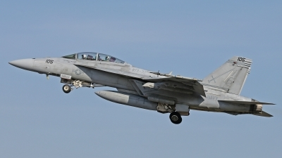 Photo ID 208940 by David F. Brown. USA Navy Boeing F A 18F Super Hornet, 166667