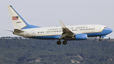 Photo ID 208919 by Ruben Galindo. USA Air Force Boeing C 40C 737 7CP BBJ, 05 4613