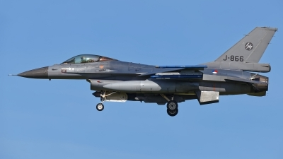Photo ID 208964 by Rainer Mueller. Netherlands Air Force General Dynamics F 16AM Fighting Falcon, J 866