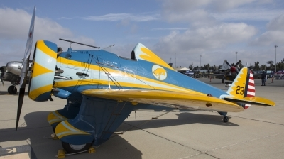 Photo ID 209007 by Nathan Havercroft. Private Planes of Fame Air Museum Boeing P 26A Peashooter, NX3378G