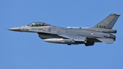Photo ID 209093 by Rainer Mueller. Netherlands Air Force General Dynamics F 16AM Fighting Falcon, J 624