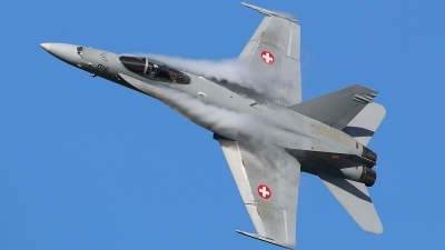 Photo ID 209090 by Ludwig Isch. Switzerland Air Force McDonnell Douglas F A 18C Hornet, J 5016