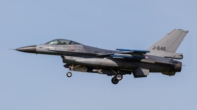 Photo ID 209356 by Adrian Stürmer. Netherlands Air Force General Dynamics F 16AM Fighting Falcon, J 646