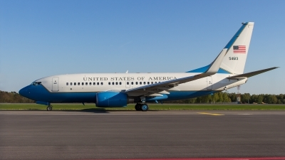 Photo ID 209189 by Adrian Stürmer. USA Air Force Boeing C 40C 737 7CP BBJ, 05 4613