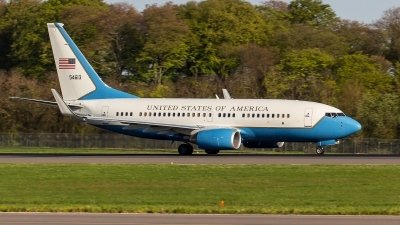 Photo ID 209150 by Adrian Stürmer. USA Air Force Boeing C 40C 737 7CP BBJ, 05 4613