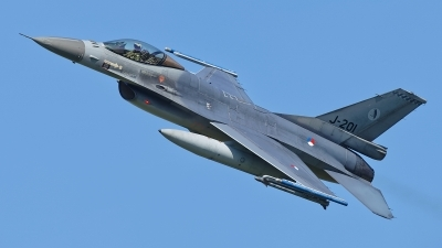 Photo ID 209177 by Rainer Mueller. Netherlands Air Force General Dynamics F 16AM Fighting Falcon, J 201