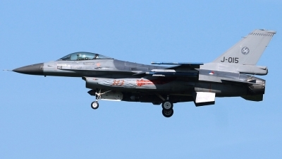 Photo ID 209238 by Stephan Sarich. Netherlands Air Force General Dynamics F 16AM Fighting Falcon, J 015