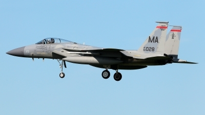 Photo ID 209206 by Carl Brent. USA Air Force McDonnell Douglas F 15C Eagle, 84 0028