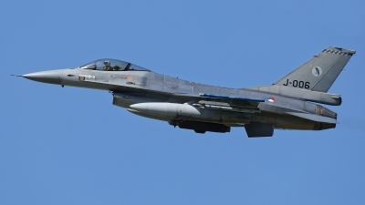 Photo ID 209221 by Rainer Mueller. Netherlands Air Force General Dynamics F 16AM Fighting Falcon, J 006