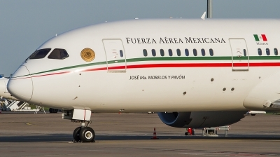 Photo ID 209228 by Lukas Könnig. Mexico Air Force Boeing 787 8 Dreamliner, XC MEX