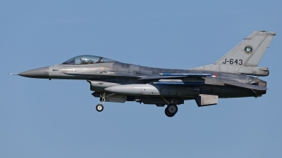 Photo ID 209274 by Rainer Mueller. Netherlands Air Force General Dynamics F 16AM Fighting Falcon, J 643