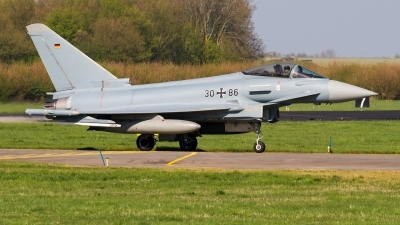 Photo ID 209294 by Alfred Koning. Germany Air Force Eurofighter EF 2000 Typhoon S, 30 86