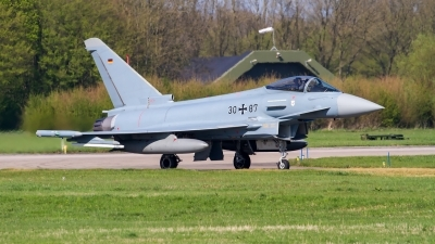 Photo ID 209295 by Alfred Koning. Germany Air Force Eurofighter EF 2000 Typhoon S, 30 87