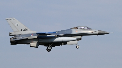 Photo ID 209336 by Milos Ruza. Netherlands Air Force General Dynamics F 16AM Fighting Falcon, J 201