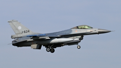 Photo ID 209337 by Milos Ruza. Netherlands Air Force General Dynamics F 16AM Fighting Falcon, J 624