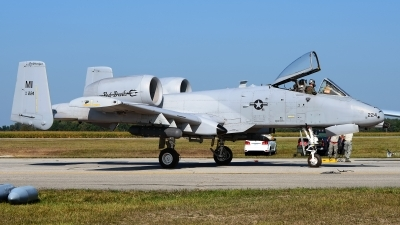 Photo ID 209360 by Rod Dermo. USA Air Force Fairchild A 10C Thunderbolt II, 80 0224