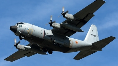 Photo ID 209374 by Thomas Ziegler - Aviation-Media. Belgium Air Force Lockheed C 130H Hercules L 382, CH 03
