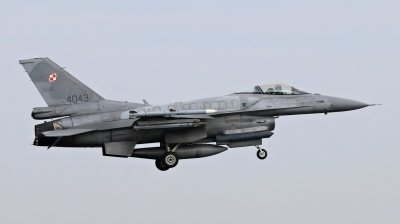 Photo ID 209387 by Milos Ruza. Poland Air Force General Dynamics F 16C Fighting Falcon, 4043