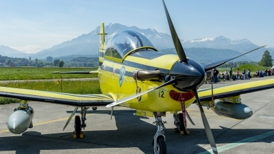 Photo ID 209547 by Martin Thoeni - Powerplanes. Switzerland Air Force Pilatus PC 9A, C 412