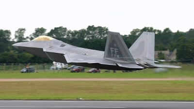 Photo ID 24529 by Ian Older. USA Air Force Lockheed Martin F 22A Raptor, 05 4101