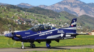 Photo ID 209596 by Ludwig Isch. France Air Force Pilatus PC 21, 15