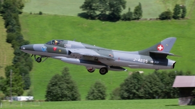 Photo ID 209671 by Agata Maria Weksej. Private Fliegermuseum Altenrhein Hawker Hunter T68, HB RVP