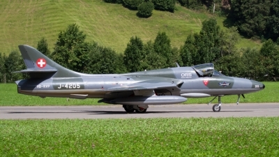 Photo ID 209680 by Agata Maria Weksej. Private Fliegermuseum Altenrhein Hawker Hunter T68, HB RVP