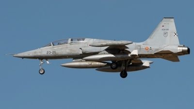 Photo ID 209798 by F. Javier Sánchez Gómez. Spain Air Force Northrop SF 5B Freedom Fighter, AE 9 005