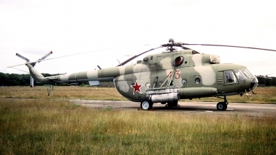 Photo ID 209814 by Stephan Sarich. Russia Air Force Mil Mi 8MT, 43 RED