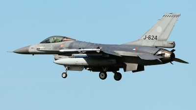 Photo ID 209924 by Carl Brent. Netherlands Air Force General Dynamics F 16AM Fighting Falcon, J 624