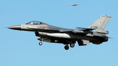 Photo ID 209929 by Carl Brent. Netherlands Air Force General Dynamics F 16AM Fighting Falcon, J 201