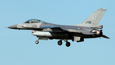 Photo ID 209928 by Carl Brent. Netherlands Air Force General Dynamics F 16AM Fighting Falcon, J 511