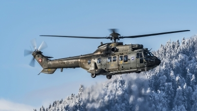 Photo ID 209954 by Martin Thoeni - Powerplanes. Switzerland Air Force Aerospatiale AS 332M1 Super Puma, T 314