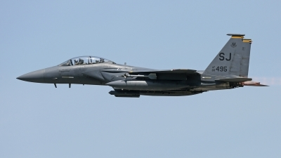 Photo ID 209945 by David F. Brown. USA Air Force McDonnell Douglas F 15E Strike Eagle, 89 0495