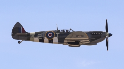 Photo ID 209975 by Nathan Havercroft. Private Planes of Fame Air Museum Supermarine 361 Spitfire LF9C, NX2TF