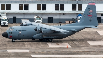 Photo ID 210005 by Hector Rivera - Puerto Rico Spotter. USA Air Force Lockheed C 130H Hercules L 382, 86 0410