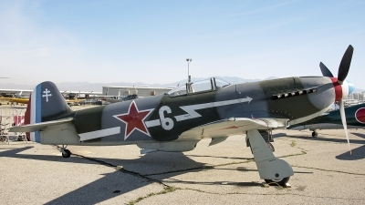 Photo ID 210091 by W.A.Kazior. Private Planes of Fame Air Museum Yakovlev Yak 3UA, N130AM
