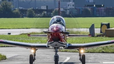 Photo ID 210338 by Martin Thoeni - Powerplanes. Switzerland Air Force Pilatus NCPC 7 Turbo Trainer, A 916