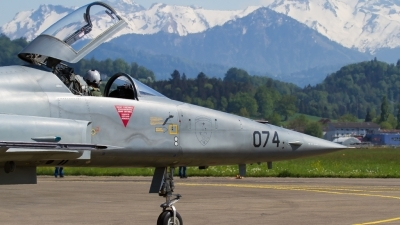 Photo ID 210197 by Agata Maria Weksej. Switzerland Air Force Northrop F 5E Tiger II, J 3074