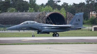 Photo ID 210141 by Doug MacDonald. USA Air Force McDonnell Douglas F 15E Strike Eagle, 96 0205