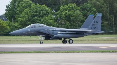 Photo ID 210142 by Doug MacDonald. USA Air Force McDonnell Douglas F 15E Strike Eagle, 97 0221