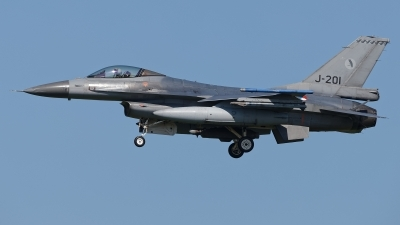 Photo ID 210212 by Rainer Mueller. Netherlands Air Force General Dynamics F 16AM Fighting Falcon, J 201