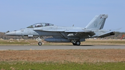 Photo ID 210221 by David F. Brown. USA Navy Boeing F A 18F Super Hornet, 166627