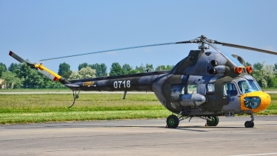 Photo ID 210241 by Radim Spalek. Czech Republic Air Force Mil Mi 2, 0718