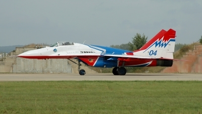 Photo ID 24665 by Radim Spalek. Russia Air Force Mikoyan Gurevich MiG 29 9 13, 04 BLUE