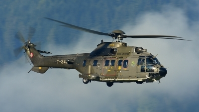 Photo ID 210270 by Sven Zimmermann. Switzerland Air Force Aerospatiale AS 532UL Cougar, T 342