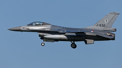 Photo ID 210290 by Rainer Mueller. Netherlands Air Force General Dynamics F 16AM Fighting Falcon, J 632